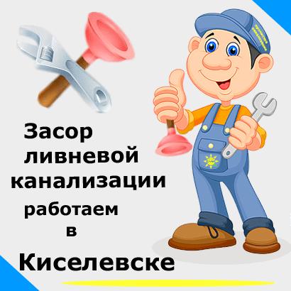 Засор ливневой канализации в Киселевске